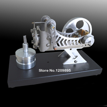 Купить онлайн Модель двигателя Стирлинга классический вакуумный двигатель черный науки и техники stryn двигателя научных детская игрушка подарок на день рождения