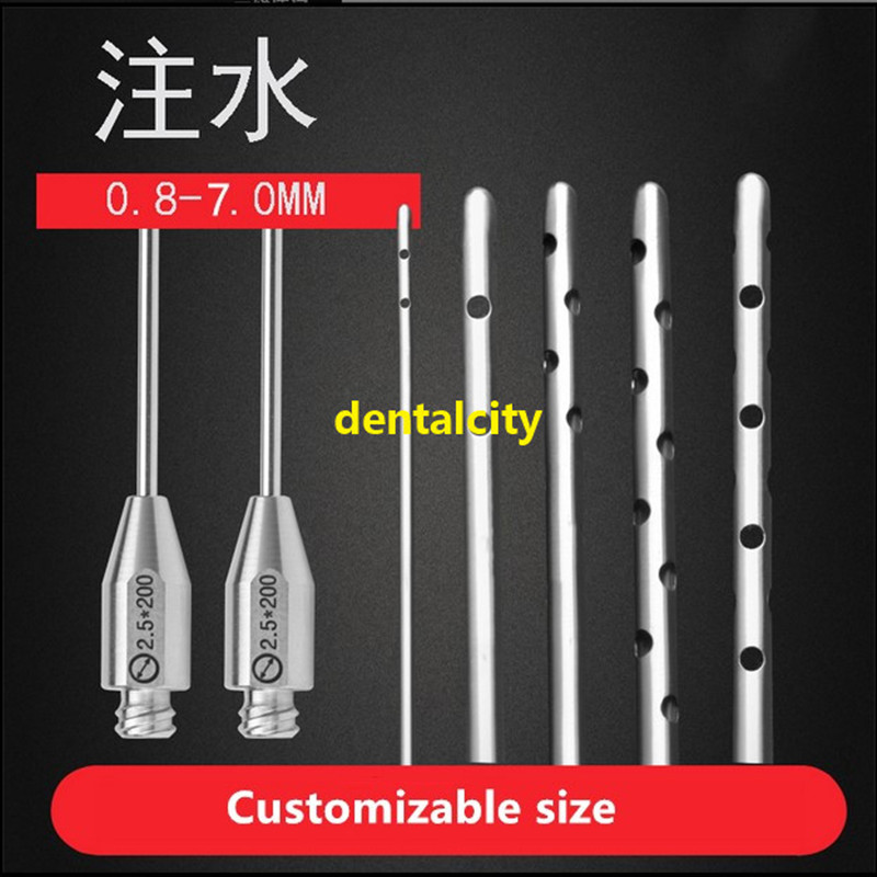 1pcs Stainless Steel Water Injection Needle Plastic Surgery For Aesthetic Facial Restoration High Quality Tools Instrument