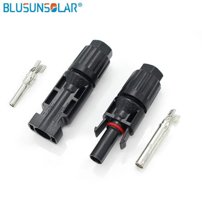 100 Pairs MC4 Connector Female Male TUV Standard IP67 Solar Cable LJ0116