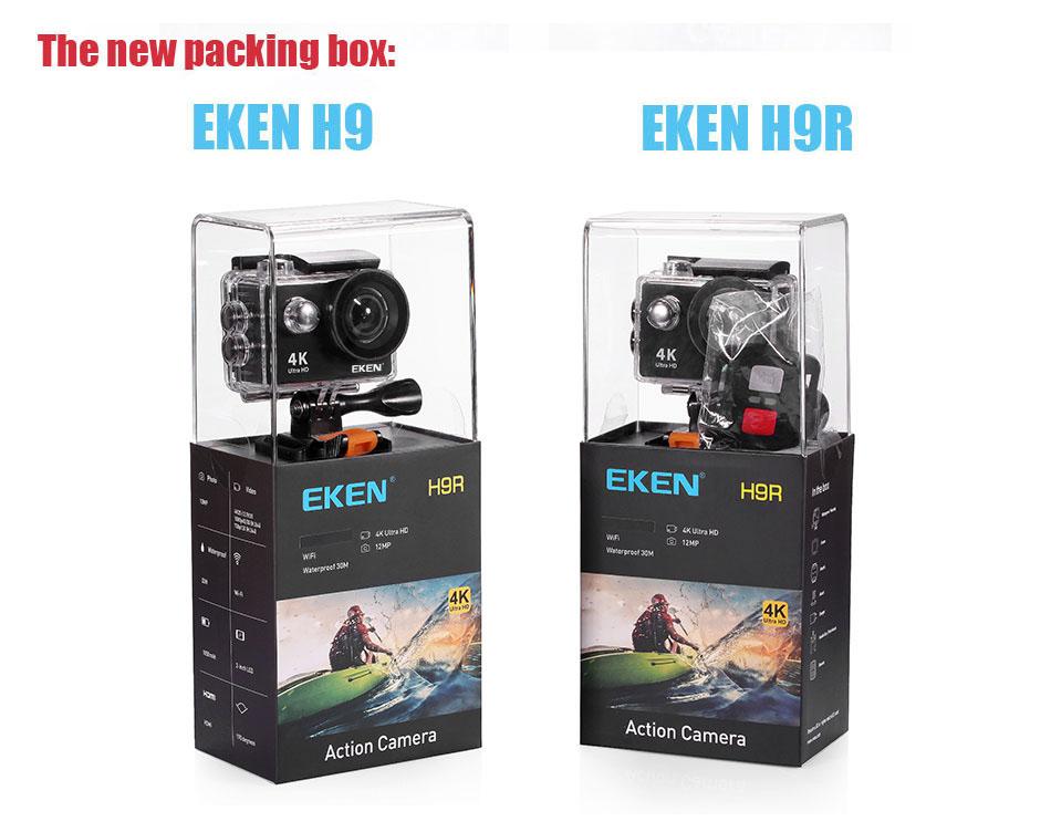 camera Eken H9R / H9 Ultra HD 4K Action Camera HTB1