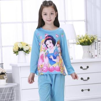 Girl Sets Palace Princess style Children Pajama Sets Cotton Kids Pijamas Set 3-14Y Sleepwear Girls Pyjamas LORI Lovely Clothing Sleepwear & Robes