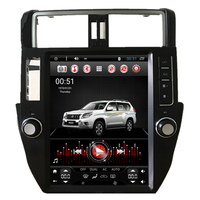 12.1 Tesla Vertical Screen Android Car Radio Audio Sat Nav Head Unit for Toyota Prado 150 2010 2011 2012 2013 2014 2015 2016
