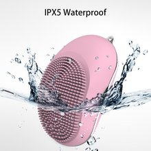 HOT Ultrasonic Electric Facial Cleansing Brush Vibration Skin Remove Blackhead Pore Cleanser Waterproof Silicone Face Massager hot cleanser electric silica gel wash face ultrasonic cleaning facical brush beauty charge waterproof clean pore device