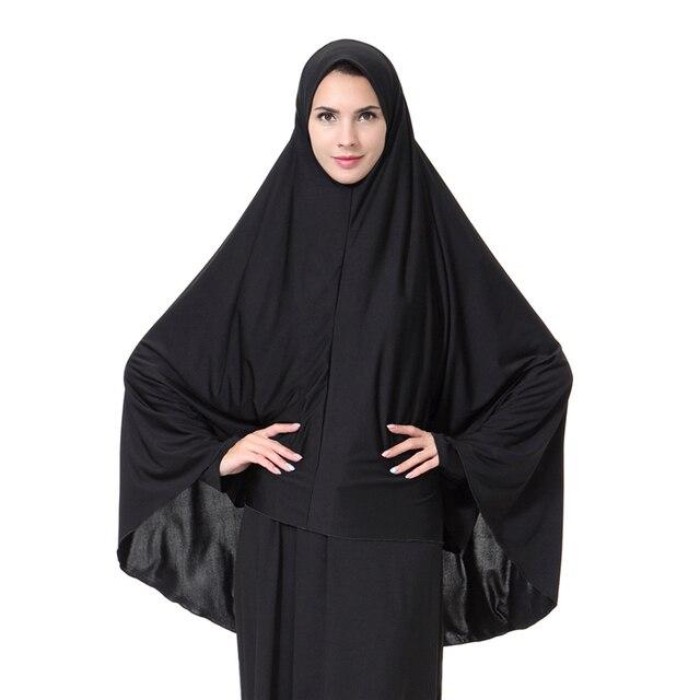 The Arabian Muslim Wanita Jilbab Panjang Jilbab Polos 7a20 Di