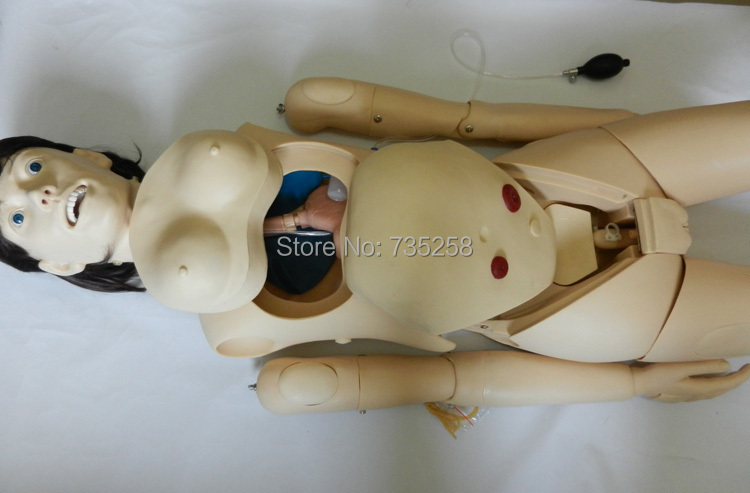 Nursing Manikin(Female) ,A fully Functional Feminine Care Model,Patient Care Practice Model economic basic patient care manikin female nursing manikin nursing mannequin