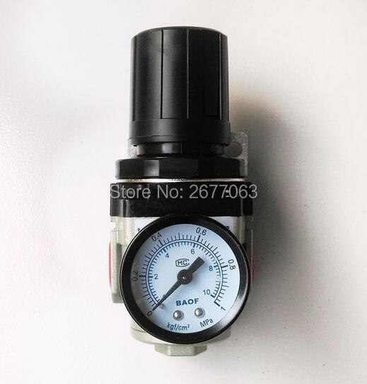 Air Control Compressor Pressure Gauge Relief Regulating Regulator Valve AR3000-03 3/8'' Port Size 180psi air compressor pressure valve switch manifold relief gauges regulator set