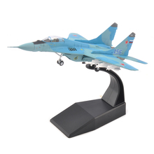 1/100 Soviet Air Force Mikoyan MiG-29 Fighter Alloy Fighter Model Aircraft Toys Alloy Airline Toy Kids Toys цена