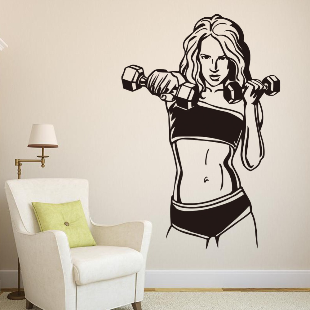 Online buy wholesale fitness decor from china fitness decor ...