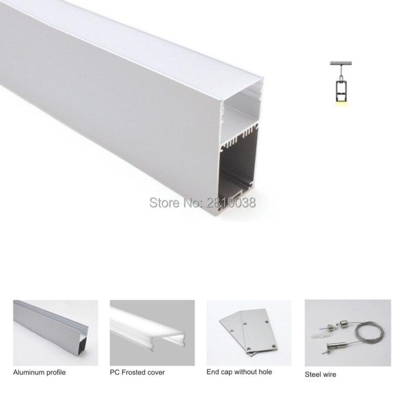 estilo para luzes de suspensao 20x1 m conjuntos lote al6063 t6 03