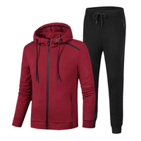 Loldeal Sportswear Sets Loose Gym Clothing Man Running Jogging Suits For 130kg Mens Sports Suit Zipper Large Size 6XL 7XL 8XL