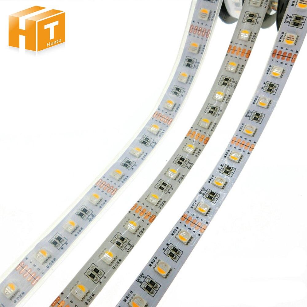 4 em 1 rgbw led strip 5050 dc12v flexivel led rgb branco rgb branco quente led