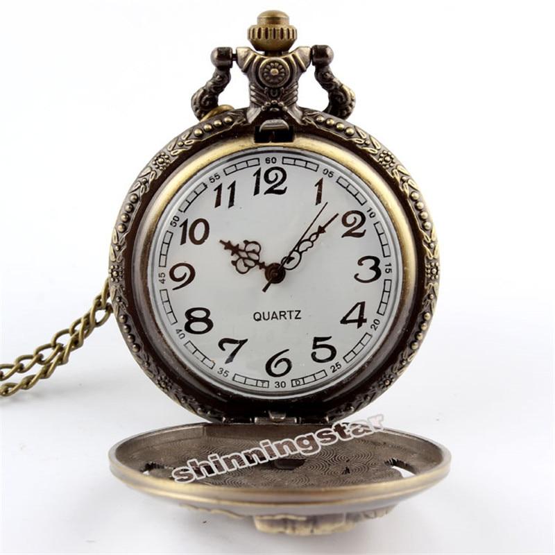 Bürünc Retro Səsi Fullmetal Alchemist Cibli Saat Kişi Qadınlar - Cib saatı - Fotoqrafiya 2