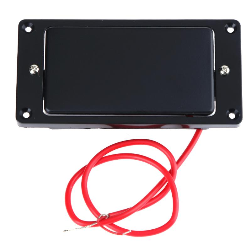 2pcs Guitar Closed Cover Humbucker Double Coil Pickups for Electric Guitar Black High Quality Guitar Parts & Accessories yibuy double coil humbucker pickups set chrome cover for electric guitar