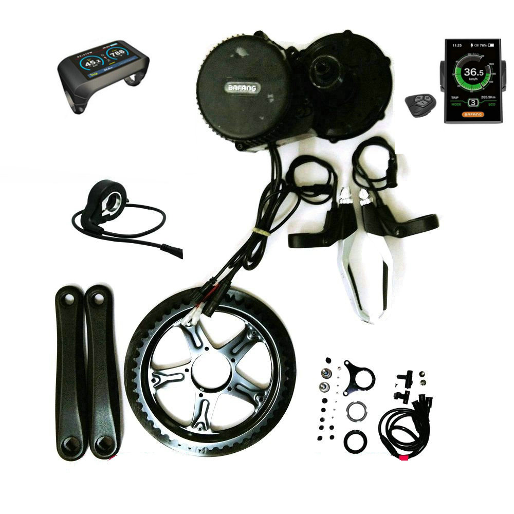 Bafang 8fun BBS02B 48 V 750 W Brushless Mid Central Motor Conversion - Ciclismo