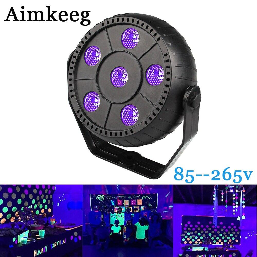 Aimkeeg Ultraviolet Lamp LED Light UV Effect Disco Cue Light Laser Stage Light UV Wall Washer Spotlight Professional Stage Light