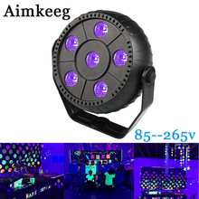 Aimkeeg ultraviolet lamp LED Light UV Effect Disco Cue Laser Stage Wall Washer Spotlight Professional