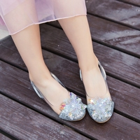 Child Crystal Glitter Flats Little Kid Low Heeled Big Girl Pageant Wedding Bridesmaid Dance Princes603 1s Dress Shoes
