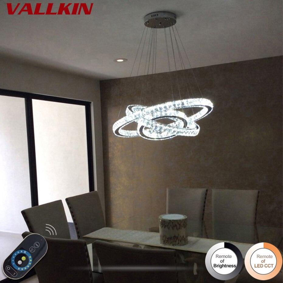 Modern kristálycsillárok otthoni világítás dekoráció LED - Beltéri világítás