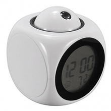 Led Display Projection Led Clock Electronic Desktop Alarm Clock Digita