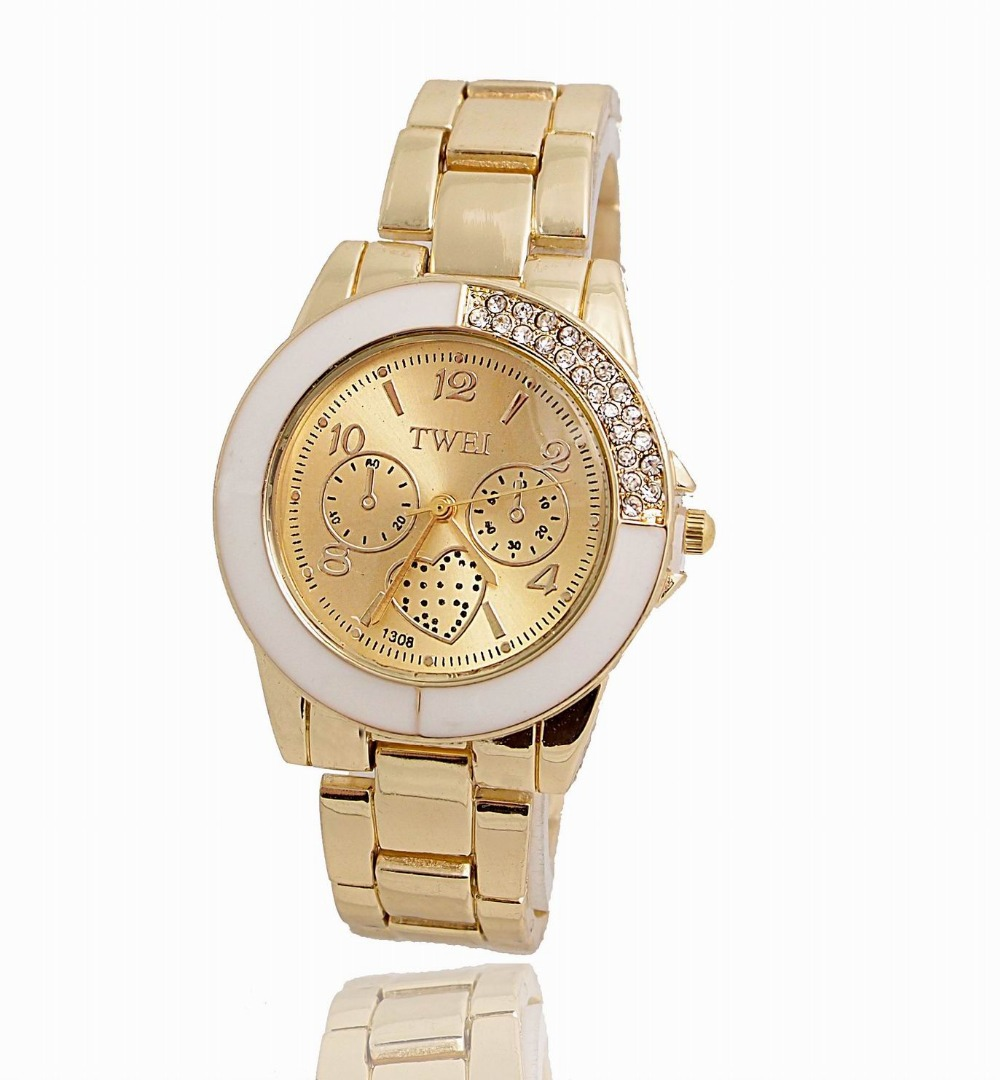 Popular Gold Plated Watches-Buy Cheap Gold Plated Watches ...