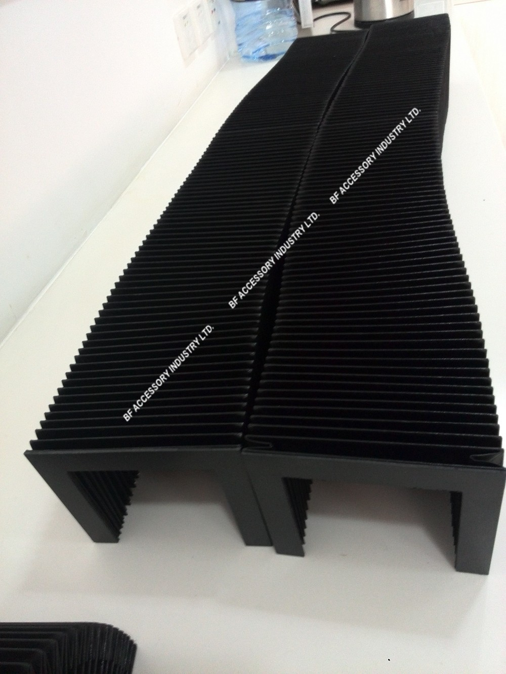Accordion bellows cover Inner width 360mm x inner height 30 x Lmax 400mm