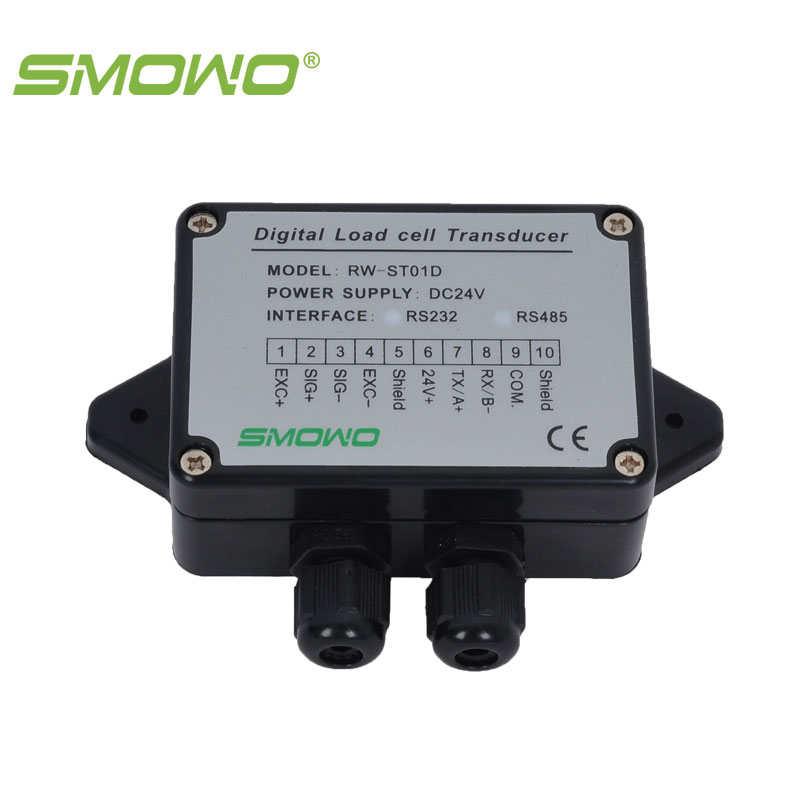 Amplifier sensor load cell  digital transducer  transmitter RW- ST01D 2.0 RS232/RS485 smowo pressure sensor output amplifier 0 10v 4 20ma transmitter rw st01a weighing force measurement balance load cell amplifier