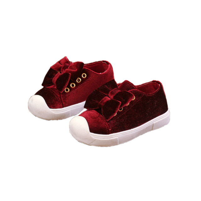 Causal lindo baby girl shoes doble bowtie sólido estilo Europeo zapatos para 1-3yrs bebé recién nacido infantil del niño zapatos planos