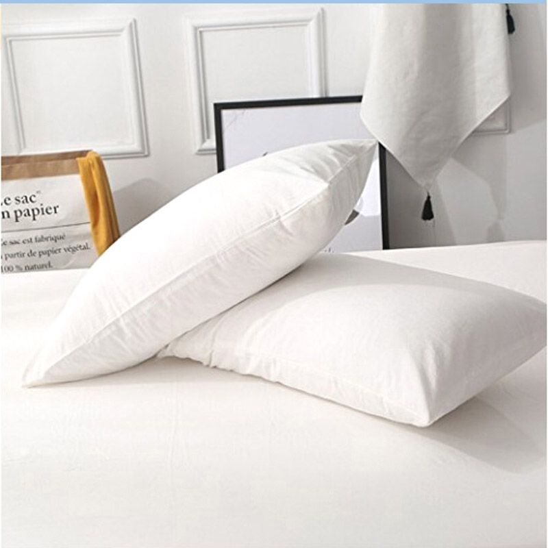 Hot Selling 50*70CM 100% Polyester Waterproof Pillow Protector/ Pillow Case With Zipper For Bed Wetting And Bed Bug One Pair
