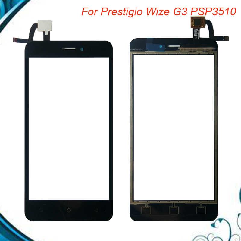 5.0 inç dokunmatik ekran için Prestigio Wize G3 PSP3510 DUO PSP 3510 DUO ön cam sayısallaştırma paneli sensörü cam Lens değiştirme