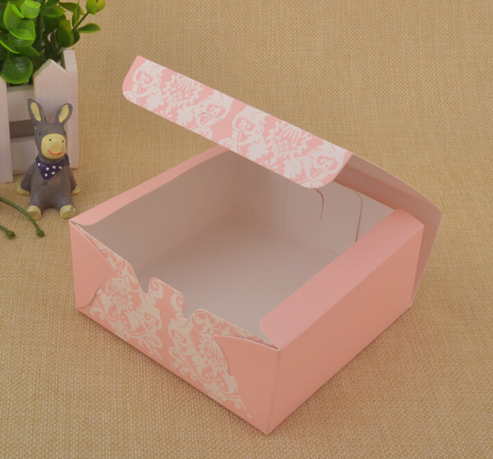 wedding cake take home bags 20piece lot wedding cake box chocolate gift box pink 26204