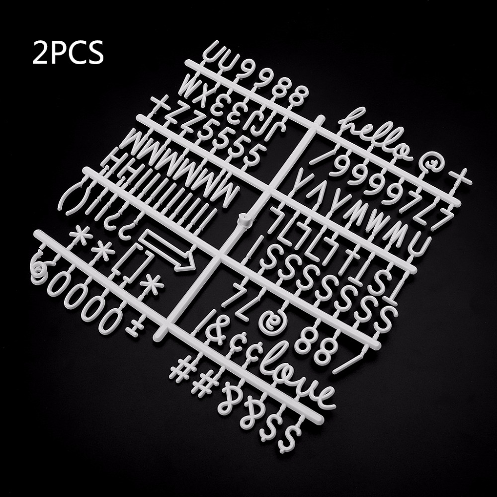Characters For Felt Letter Board 220 Piece Numbers For Changeable Letter Board