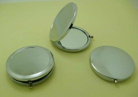 blank compact mirror