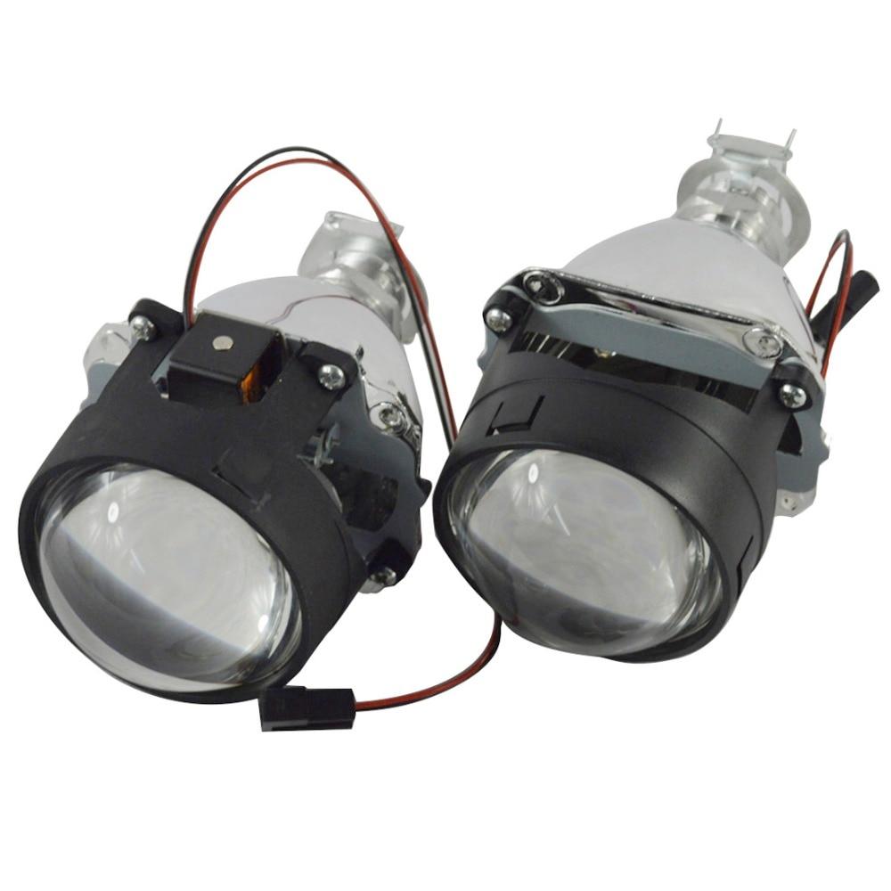 WST 2 5 inch auto car Bixenon HID projector lens bi xenon lens H4 H7 H1