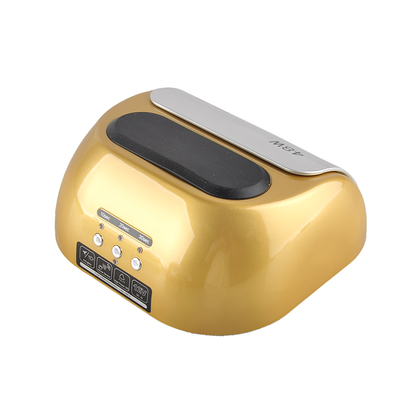 48W Gold UV Nail Dryer Led Polish Machine Lamp for Gel nails for Curing Nail Polish Gel Nail Art Tools new pro 48w nail lamp manicure dryer fit uv led builder gel all nail polish nail art tools sun5 professional machine