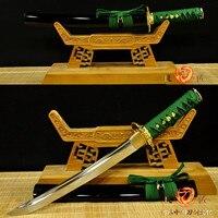Japanese Handmade 9260 spring steel Tanto Sword Sharp Hand Forged