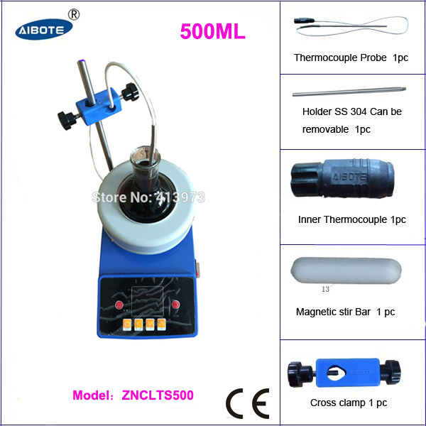 free shipping , 500ml 380 degree 2500 rpm laboratory equipment stirring digital heating mantle free shipping 10l 20 to 99 degree low temperature stirring reaction bath