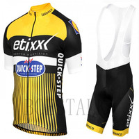 2018 Quick Step Team Pro Summer Bike Short Sleeve Suit Ropa Maillot Ciclismo Sports Competition Mtb