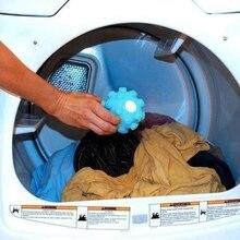 2 шт. средство для удаления морщин, высвобождение шариков для сушки белья, чистящие инструменты для умягчения ткани, мяч экологически чистый зеленый шарик для стирки