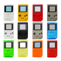 10PCS a lot 11 colors High quality Plastic game Shell Housing Cover Case for Nintendo GB for Gameboy Classic Console