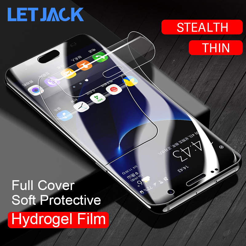 Full Cowl Delicate Hydrogel Movie For Samsung Galaxy S9 S8 Plus S7 Edge Be aware eight A9 Star Lite Display screen Protector Movie Not Tempered Glass