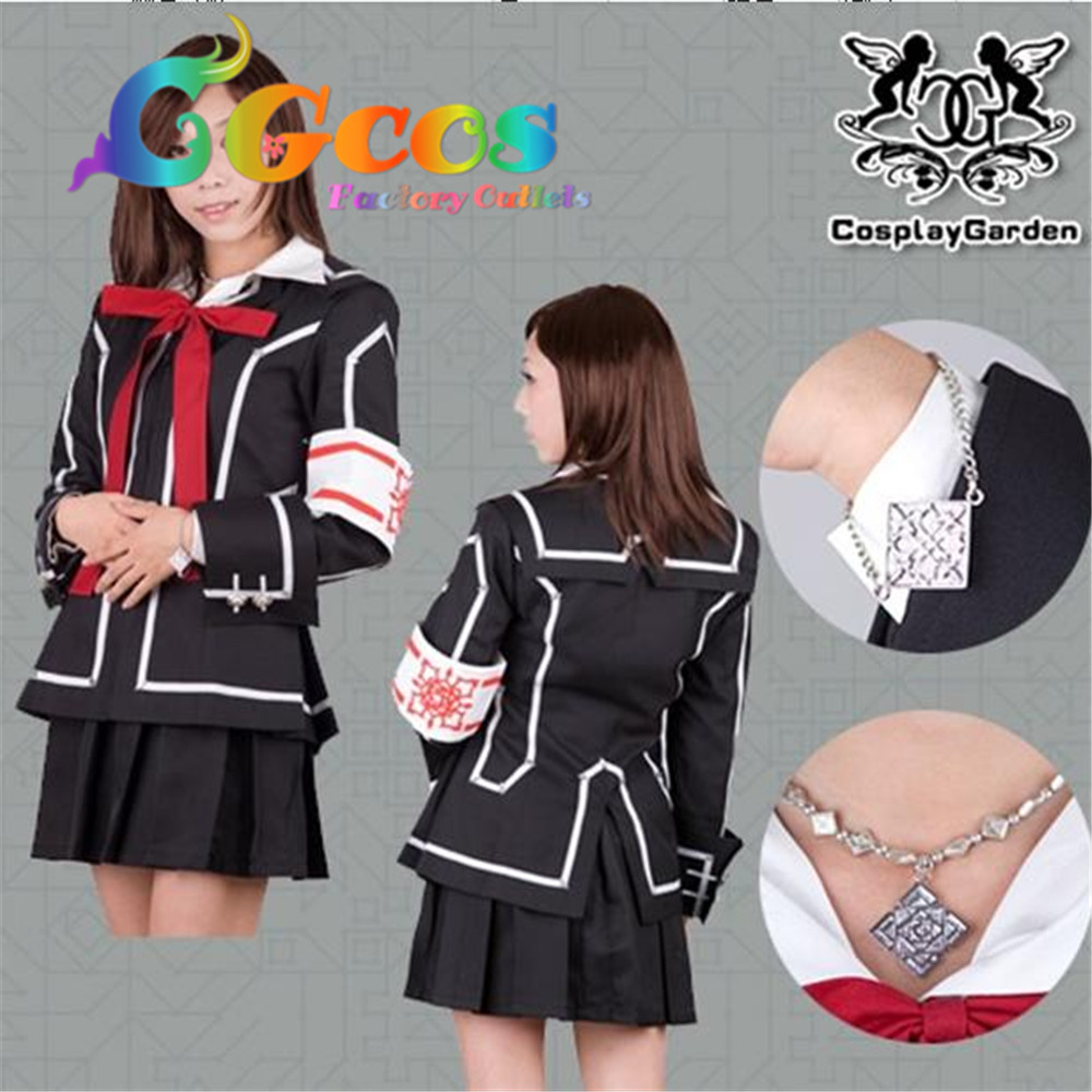 CGCOS Free Shipping Cosplay Costume Vampire Knight Yuki New in Stock Retail / Wholesale Halloween Christmas Party Uniform
