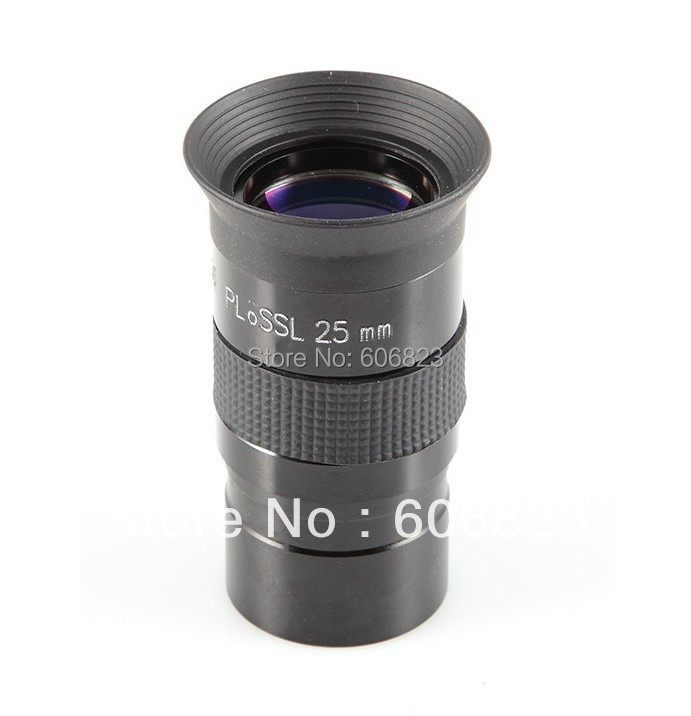 1,25 дюймов PL 25 мм многослойный окуляр объектив для астрономического телескопа