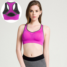 2016 new Woman Sports Bras Female Vest Running Underwear Top Sports Fitness Yoga Tank Top Bra Sports Clothes For Women Yoga