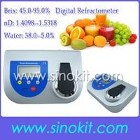 Высокий точный уровень Brix 45,0 95.0% Цифровой рефрактометр LDR400