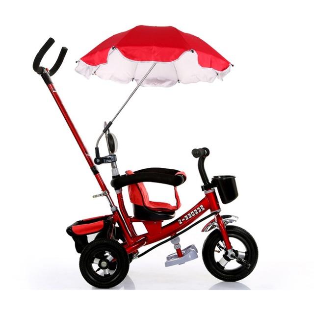 Verão Venda Quente Carrinho de bebê Capa De Chuva Carrinho de Bebê Pram Parasol Guarda-chuva de Proteção Contra Os Raios UV do Sol Sombra FCI #