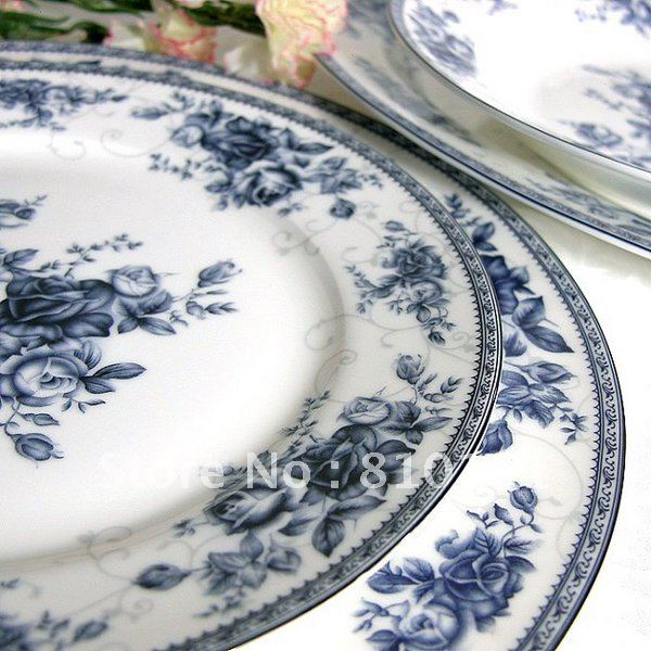 bone china 56PCS! ceramic porcelain tablewaredinnerware setpottery spoonsdishs  sc 1 st  AliExpress.com & bone china 56PCS! ceramic porcelain tablewaredinnerware setpottery ...