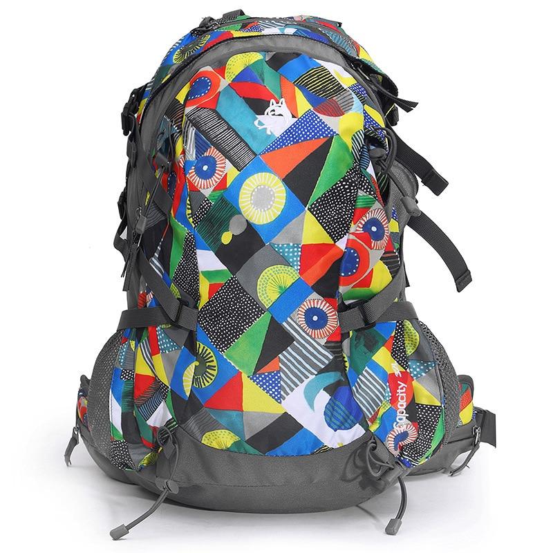 Outdoor Nylon Camping Hiking Bag Waterproof Bag Cover for Men Women Traveling Backpack Outdoor Mountain Climb Bag