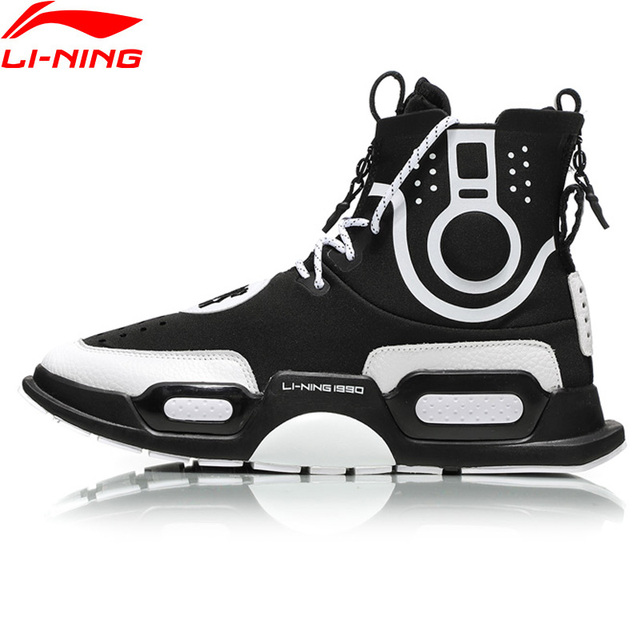 b61c4eb11 Li-Ning NYFW Unisex  REBURN  Basketball Culture Shoes Wearable Comfort  LiNing Sport Shoes Fitness Sneakers AGBN052 XYL170