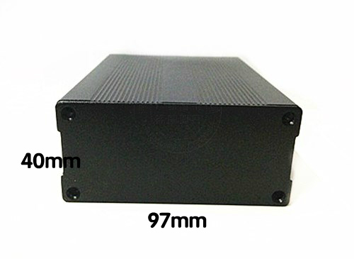 High quality aluminum shell case into the coal player 97*40*110mm aluminum shell aluminum box
