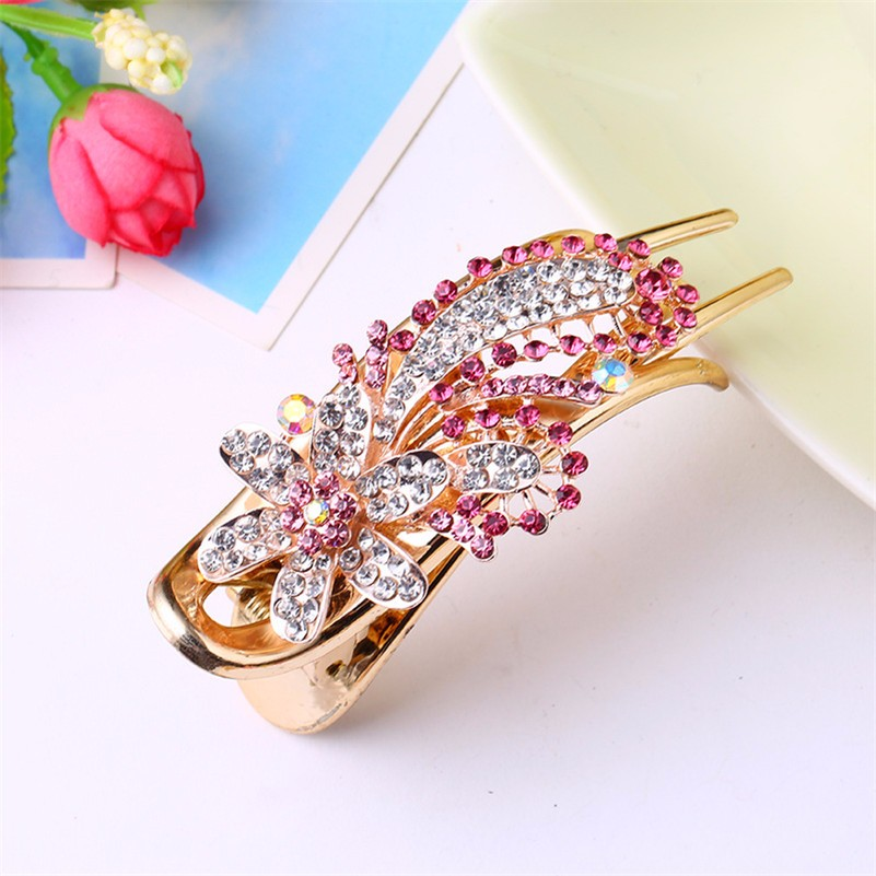HTB1.uVdNpXXXXc8XFXXq6xXFXXXP Gorgeous Rhinestone Crystal Studded Flower Hair Clip Ornament For Women